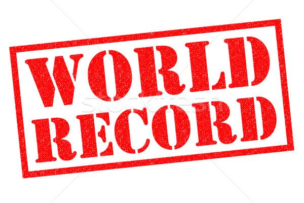 WORLD RECORD  Stock photo © chrisdorney