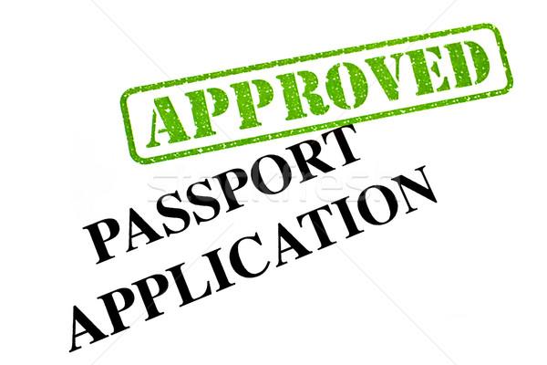 Passport Application APPROVED Stock photo © chrisdorney
