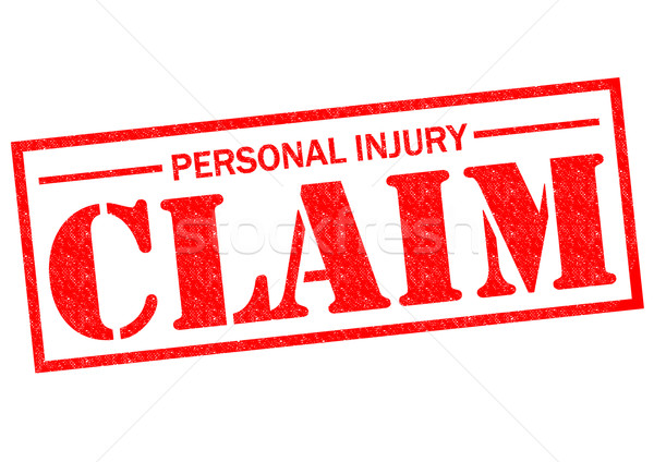 PERSONAL INJURY CLAIM Stock photo © chrisdorney