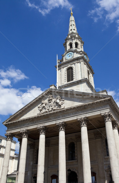 St. Martin in the Fields Church in London Stock photo © chrisdorney