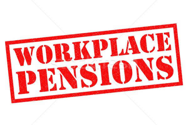 WORKPLACE PENSIONS Stock photo © chrisdorney