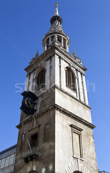 St Mary le Bow in London Stock photo © chrisdorney