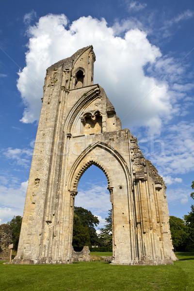 Abbaye historique ruines Europe Angleterre anciens Photo stock © chrisdorney
