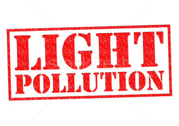 LIGHT POLLUTION Stock photo © chrisdorney