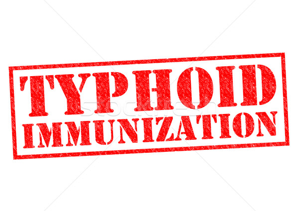 TYPHOID IMMUNIZATION Stock photo © chrisdorney