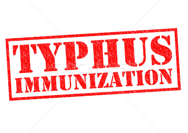 TYPHUS IMMUNIZATION Stock photo © chrisdorney