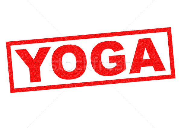 YOGA Rubber Stamp Stock photo © chrisdorney