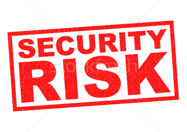 SECURITY RISK Stock photo © chrisdorney