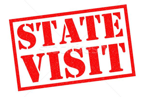 STATE VISIT Stock photo © chrisdorney