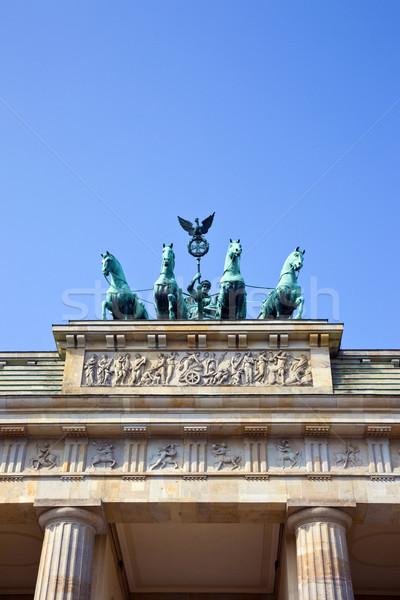 Brandenburg Gate in Berlin Stock photo © chrisdorney