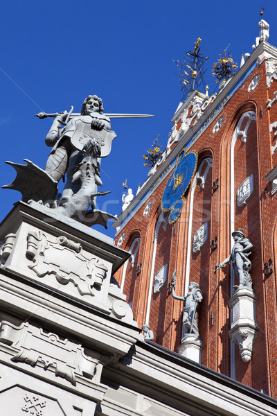 House of the Blackheads in Riga Stock photo © chrisdorney