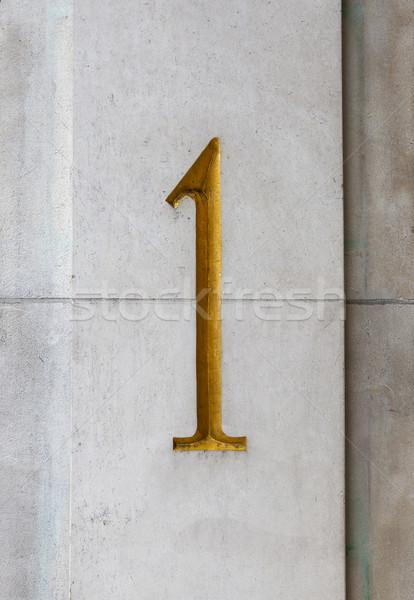 Number One Stock photo © chrisdorney