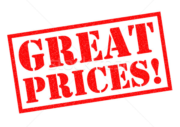 GREAT PRICES! Stock photo © chrisdorney
