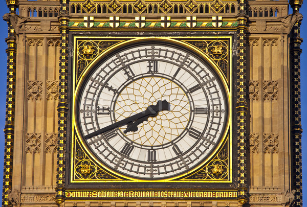 Big Ben maisons parlement célèbre Londres Photo stock © chrisdorney