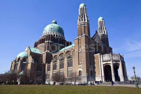 базилика сердце Брюссель город поклонения Сток-фото © chrisdorney