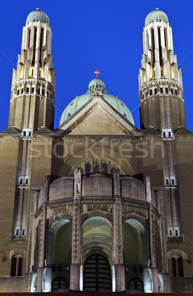 Basilica of the Sacred Heart in Brussels Stock photo © chrisdorney