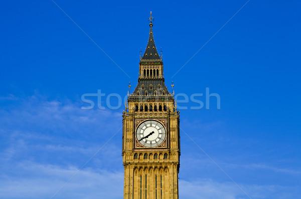 Big Ben casas parlamento Londres magnífico cidade Foto stock © chrisdorney