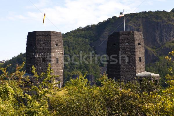 Remains of the Ludendorff Bridge in Remagen Stock photo © chrisdorney