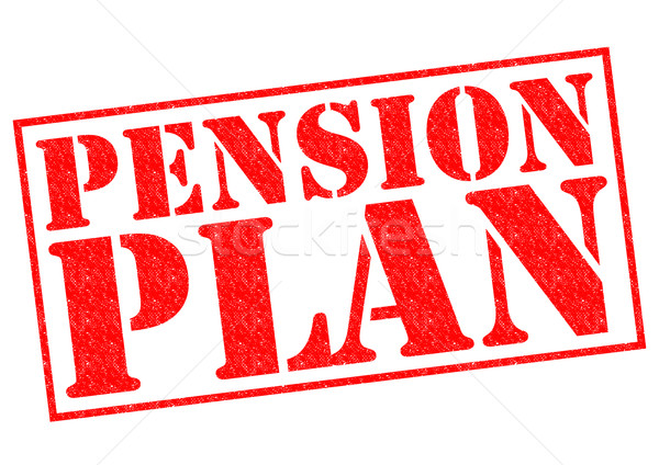 PENSION PLAN Stock photo © chrisdorney