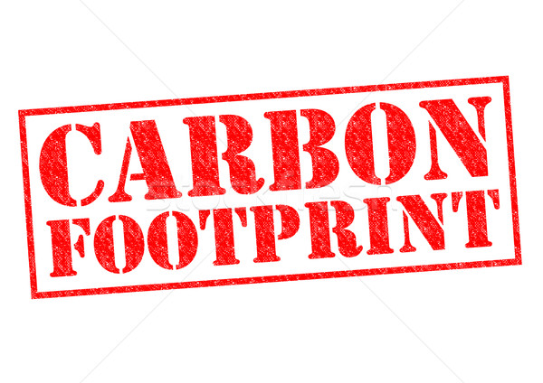 CARBON FOOTPRINT Stock photo © chrisdorney