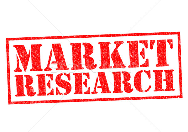 MARKET RESEARCH Stock photo © chrisdorney