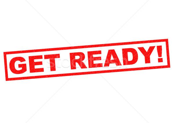 GET READY! Stock photo © chrisdorney