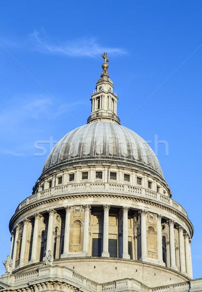 Foto stock: Catedral · Londres · icónico · ciudad · viaje · religiosas