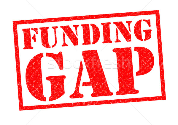 FUNDING GAP Stock photo © chrisdorney