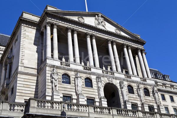 банка Англии Лондон впечатляющий внешний здании Сток-фото © chrisdorney