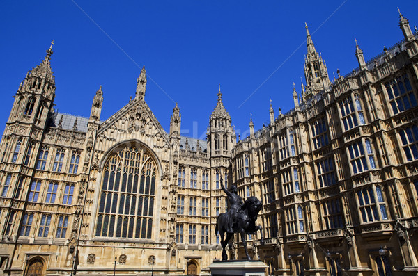 Houses of Parliament in London Stock photo © chrisdorney