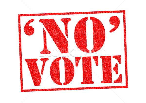 NO VOTE Stock photo © chrisdorney