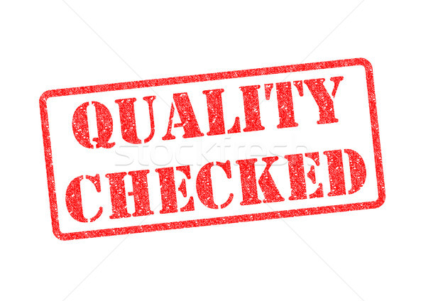 Stock photo: QUALITY CHECKED