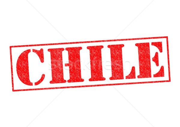 CHILE Stock photo © chrisdorney