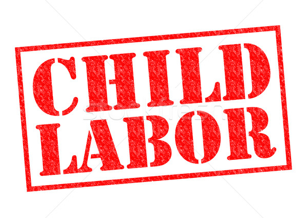 CHILD LABOR Stock photo © chrisdorney