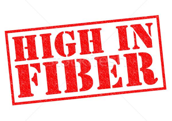 HIGH IN FIBER Stock photo © chrisdorney