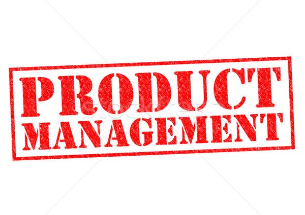 Stockfoto: Product · beheer · Rood · witte · bouw