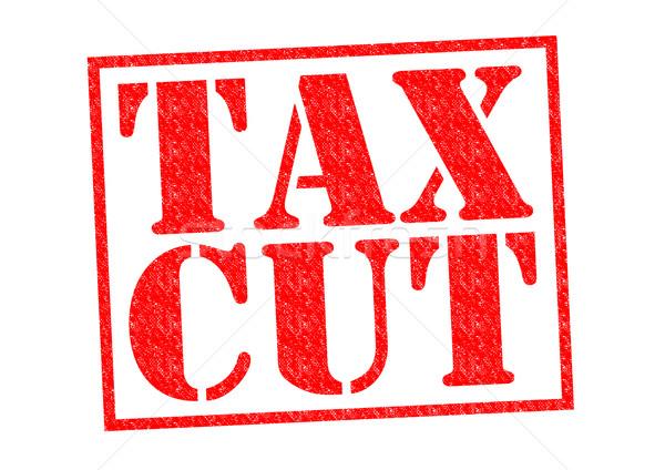 TAX CUT Stock photo © chrisdorney