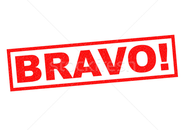 BRAVO! Stock photo © chrisdorney
