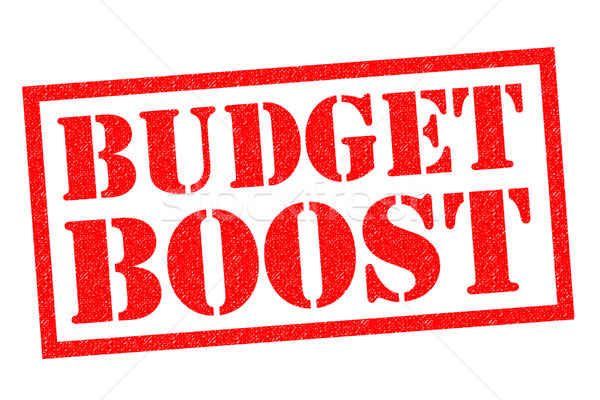 BUDGET BOOST Stock photo © chrisdorney