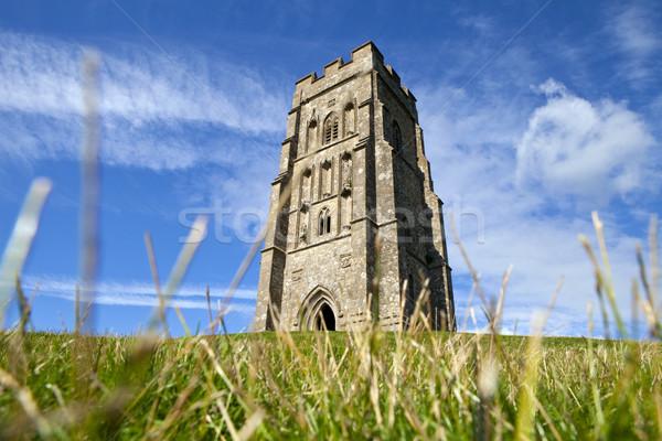 Histórico país torre religión sol Inglaterra Foto stock © chrisdorney