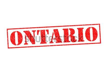 Ontario beyaz tatil düğme kültür Stok fotoğraf © chrisdorney