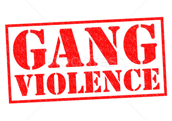 GANG VIOLENCE Stock photo © chrisdorney