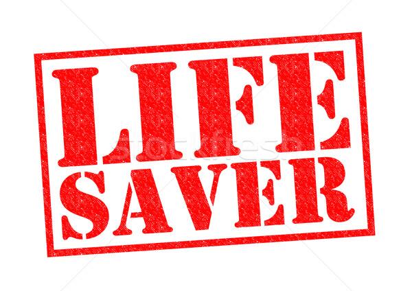 Stok fotoğraf: Hayat · kırmızı · beyaz · güvenlik · yardım