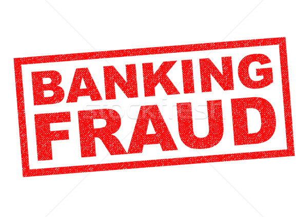 BANKING FRAUD Stock photo © chrisdorney