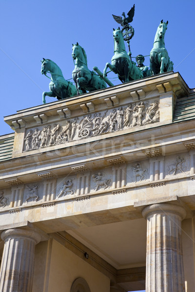 ストックフォト: ブランデンブルグ門 · ベルリン · ドイツ · 旅行