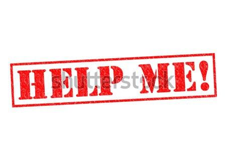 Stock fotó: Segítség · engem · pecsét · fehér · szolgáltatás · támogatás