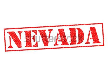 Stock fotó: Nevada · pecsét · fehér · vakáció · gomb · kultúra
