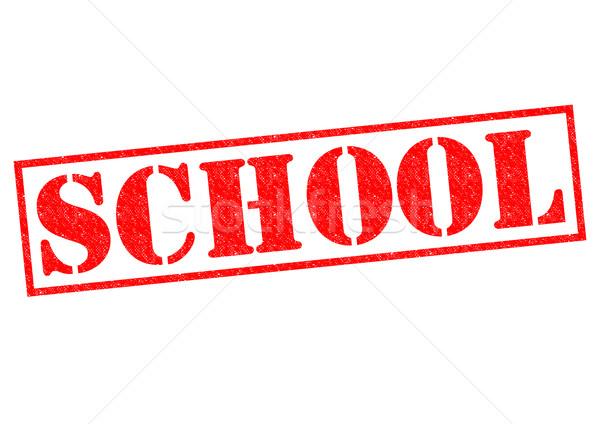 SCHOOL Stock photo © chrisdorney