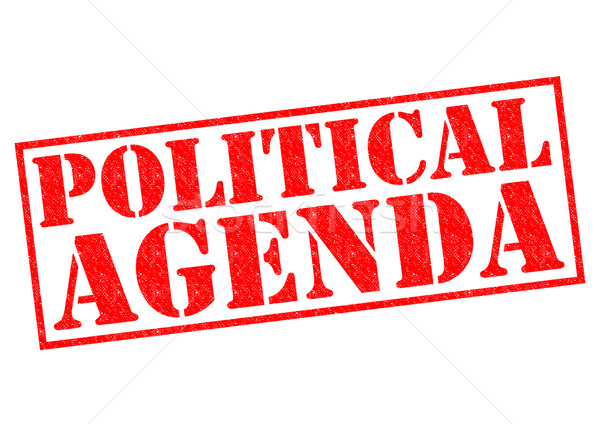 POLITICAL AGENDA Stock photo © chrisdorney