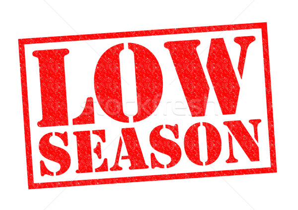 Stock photo: LOW SEASON